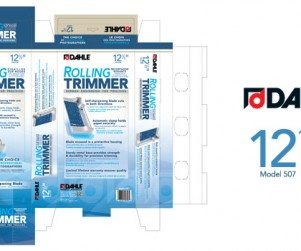 Dahle Rolling Trimmer Packaging