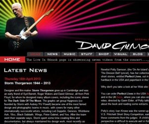 David Gilmour Official Website