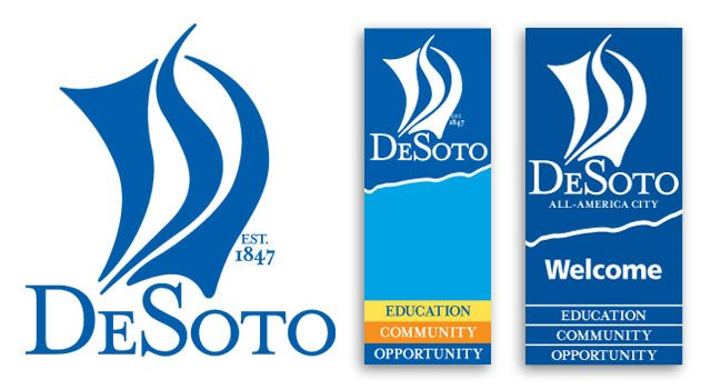 City of DeSoto Street Banners